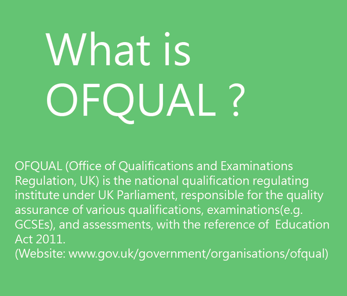 OFQUAL regulated qualification