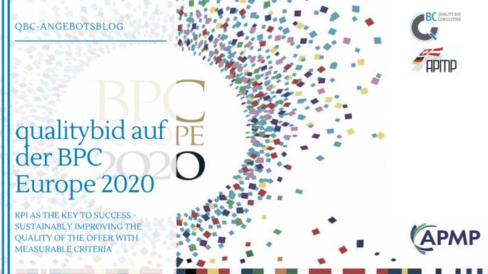 QBC auf der BPC Europe 2020