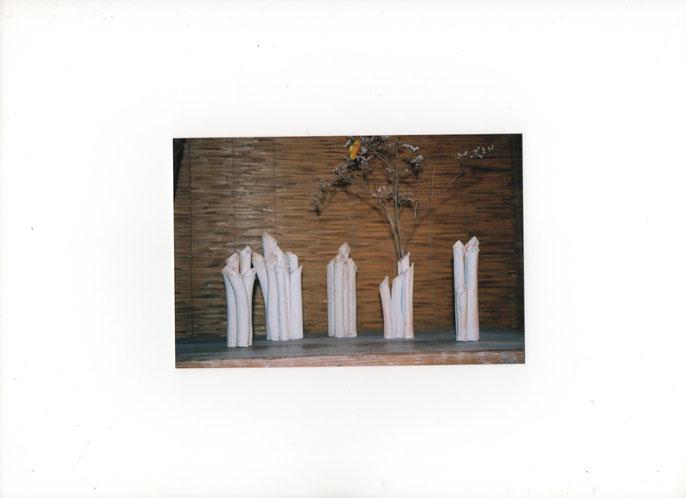 vases porcelaine 15 à 25 cm - Sylvie Ruiz Foucher -