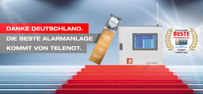 SafeTech wusste schon immer das Telenot die besten Alarmanlagen baut.