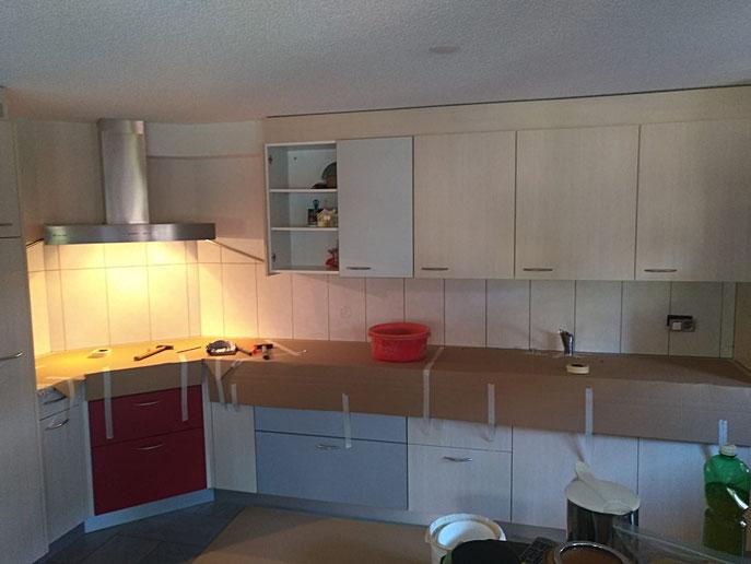 vor der Renovation Küche