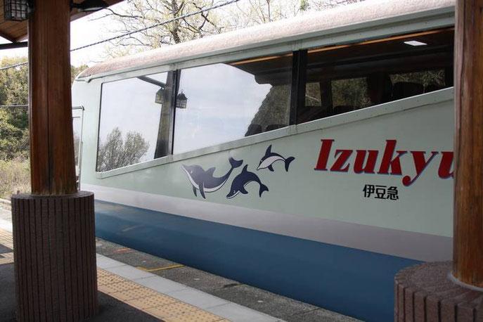 Le Dauphin Bleu de la  Izu Kyūkō Line 伊豆急