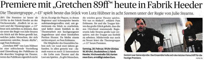 WZ Krefeld, 28.02.2015