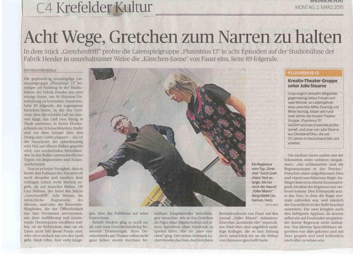 Rheinische Post, 02.03.2015