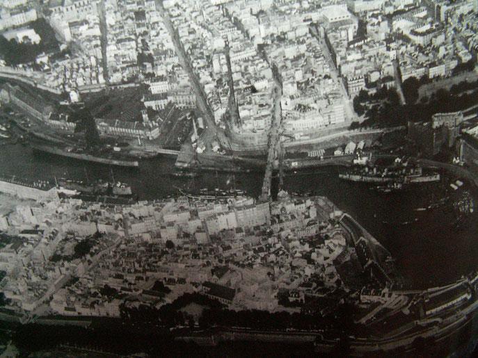 Vue Aérienne Brest Avant guerre