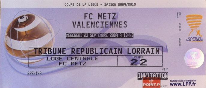Championnat de france de ligue 2 site de collectionsfcmetz - Resultat 16eme de finale coupe de la ligue ...