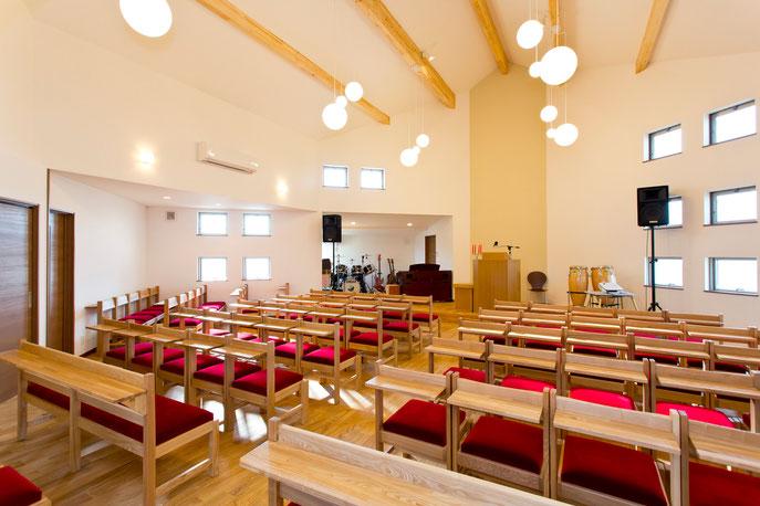 2階 礼拝堂