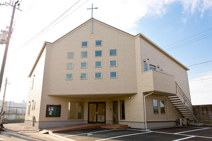 土山キリスト教会 外観