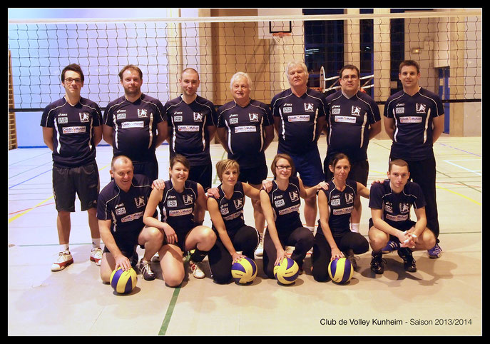 Club de Volley Kunheim - Saison 2013/2014