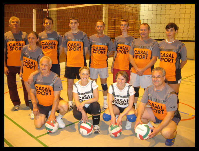 Club de Volleyde Kunheim - Saison 2008/2009