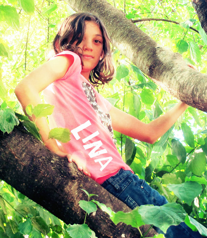 Lina, Portrait bearbeitet in Pixlr.com