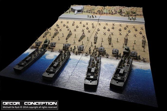 6 juin 1944 - Débarquement en Normandie