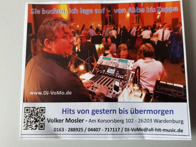 DJ-VoMo ihr DJ in Sachen Swing und ElectroSwing