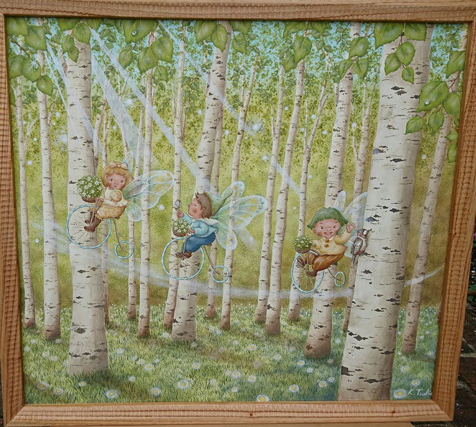 絵画 妖精画 母の日