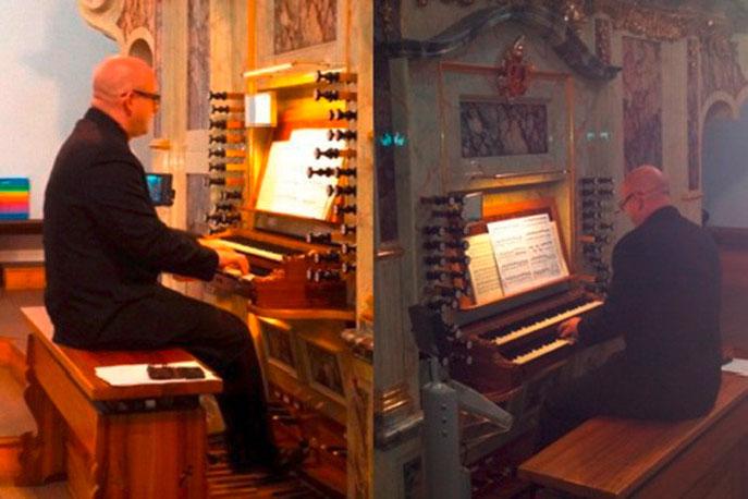 Orgel Organist kirchliche Trauung Regensburg