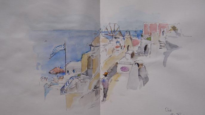 Oia Boulevard de la mer