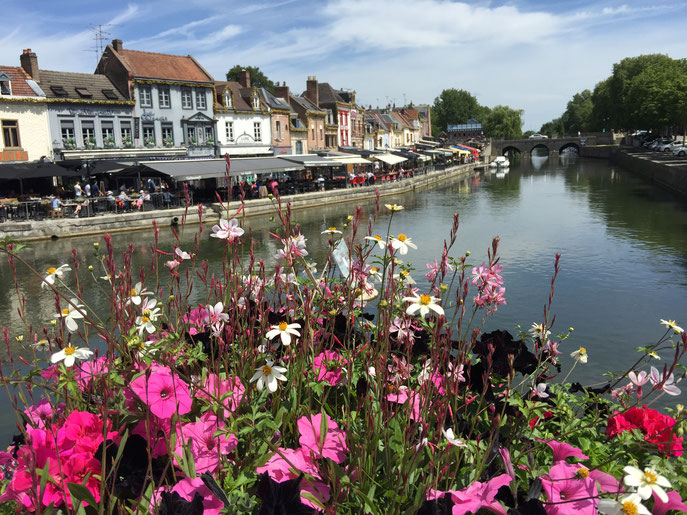 La petite Venise d'Amiens. Superbe endroit.