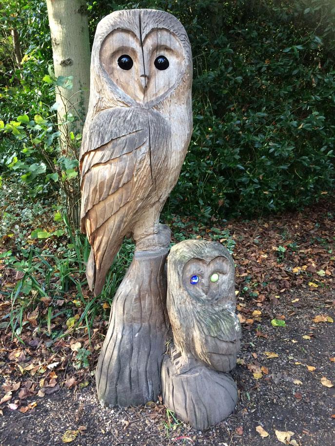 Comme cette très jolie sculpture sur bois.