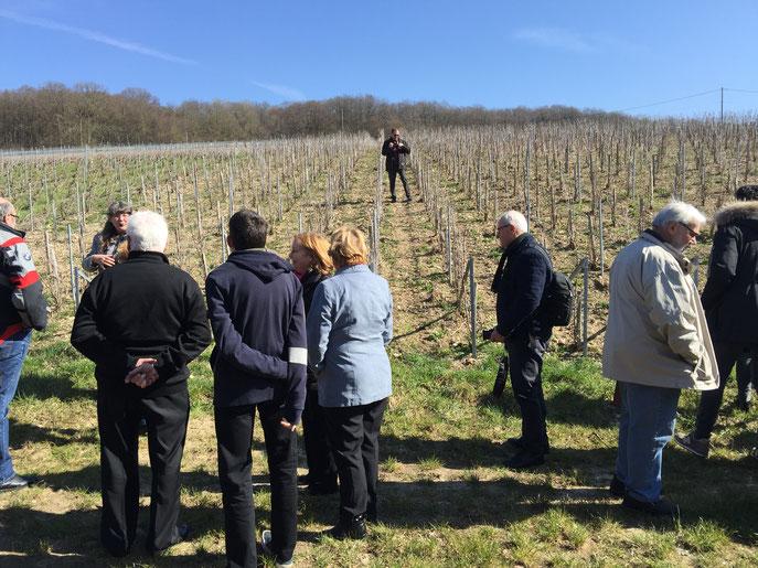 Environ 70 personnes sont venues passer une belle journée, placée, en plus, sous le signe du soleil ! Découverte des vignobles.