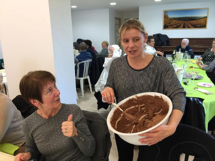 """Sans oublier la sublime mousse au chocolat """"maison"""" !!!"""