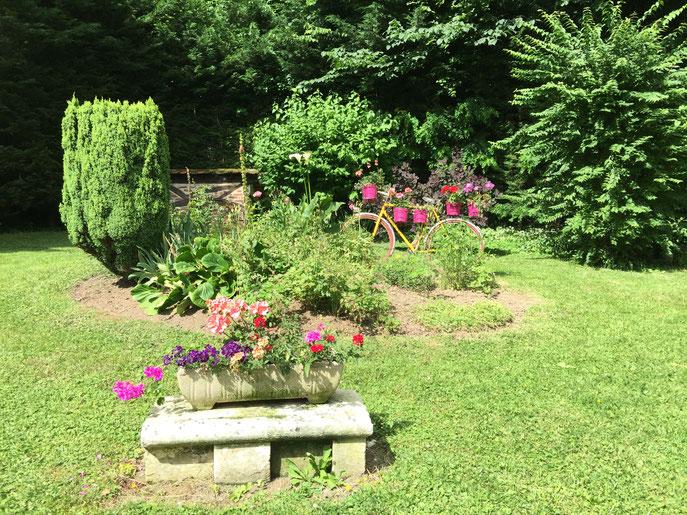 Très joli jardin !!!
