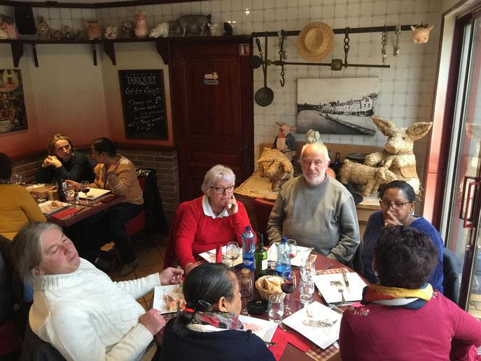 """Comme nous nous sommes régalés dans ce restaurant du quartier """"Saint Leu"""" !"""