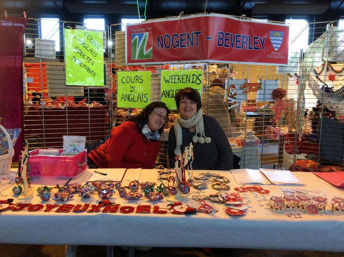 Nous avons participé au marché de Noël les 9 et 10 décembre. Merci à Joëlle et à Marie !!!