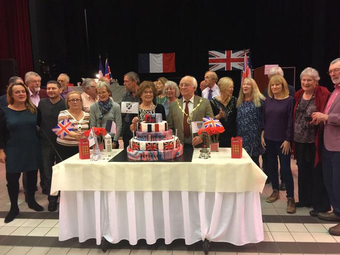 Merci à nos supers amis Anglais pour leur venue à Nogent !