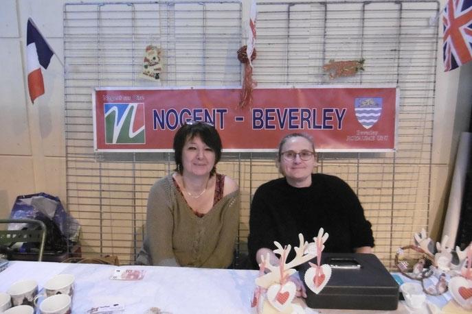 Merci à tous ces bénévoles qui ont tenu le marché de Noël de Nogent/Gerthofen au cours du weekend des 08 et 09 décembre !