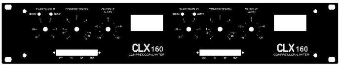 dbx  160 Frontpanel 67,53€ (incl. 19%VAT)