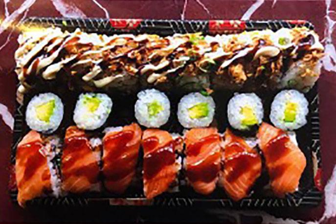 Sakura Roll Sushi