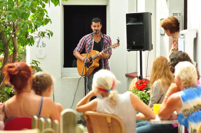 Joel Havea (Juli 2014) Kultur- und Gästehaus Henrietta Norderney