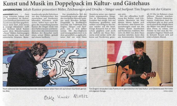 Ostfriesischer Kurier (8.10.2012)