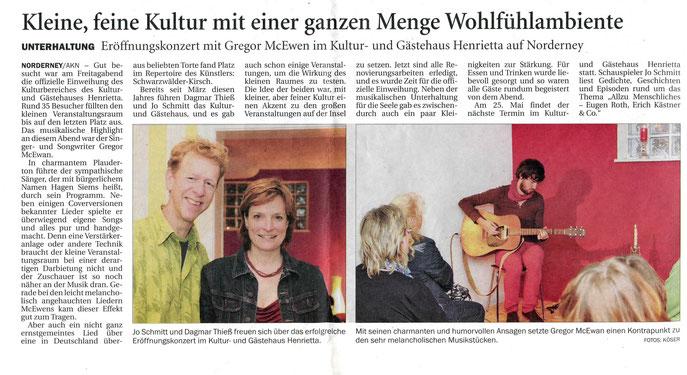 Ostfriesischer Kurier (26.08.2013)