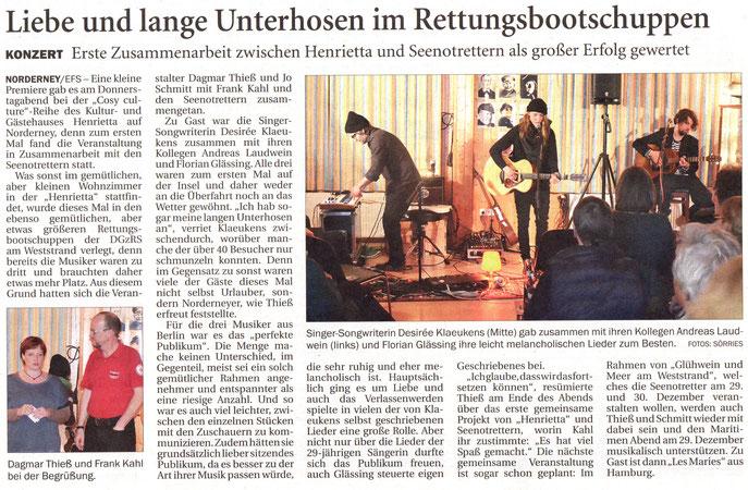 Ostfriesischer Kurier (10.11.2015)