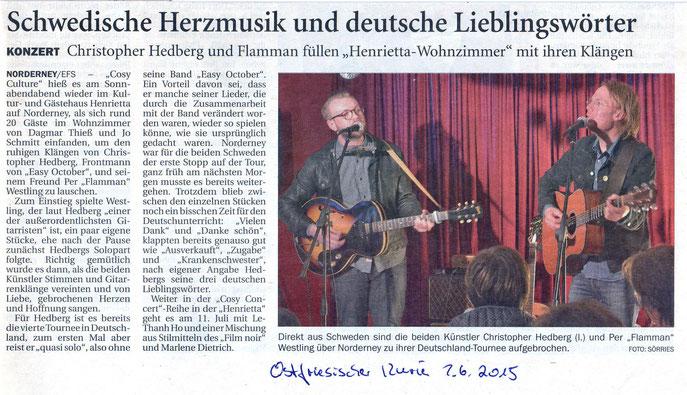 Ostfriesischer Kurier (2.06.2015)