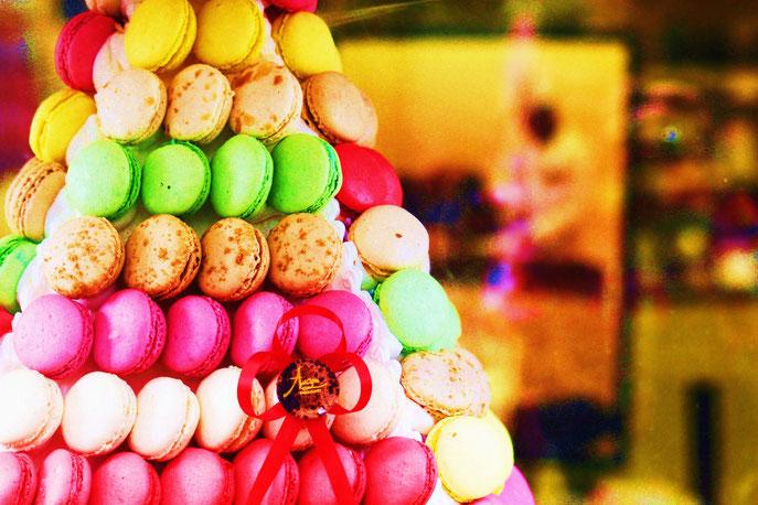 le monde des macarons, copyright Nathalie Arun