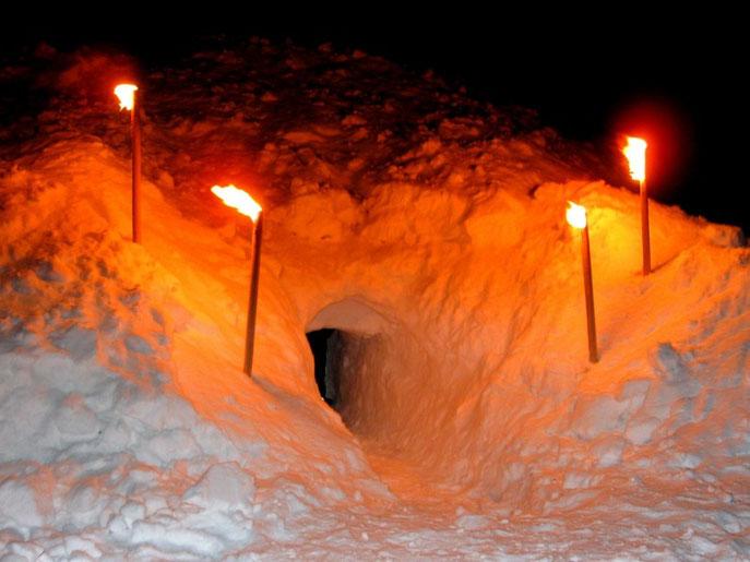 Iglubau Riesenhütte