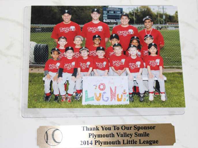 "Congrats to our T-ball team ""The Lugnuts"" on a fun season!"