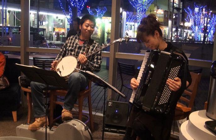 Banjo Inagawa ☆ Accordion Shibata