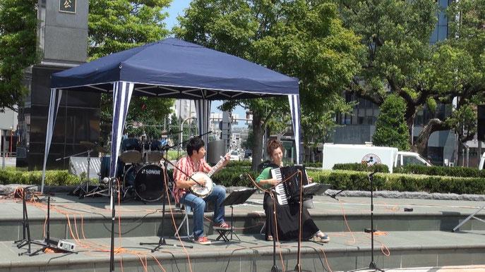 岐阜JR駅前