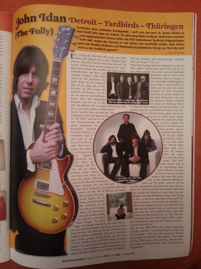 Good Times (Germany) article 05/2012
