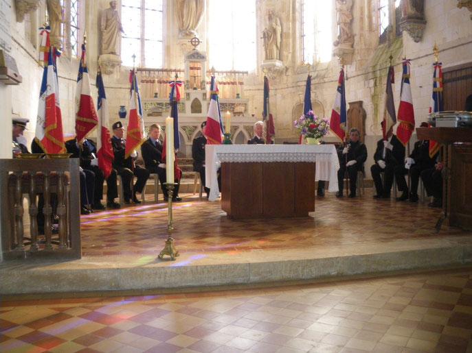 Les porte-drapeaux du canton de Rosiéres en Santerre