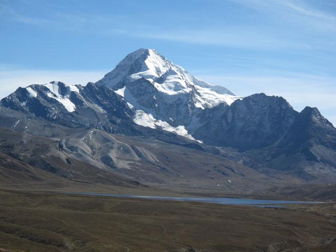 Auf diesen Berg sollte es gehen
