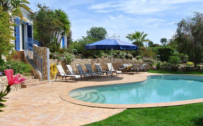 Vermietung Ferienhaus Casa Verao an der Algarve