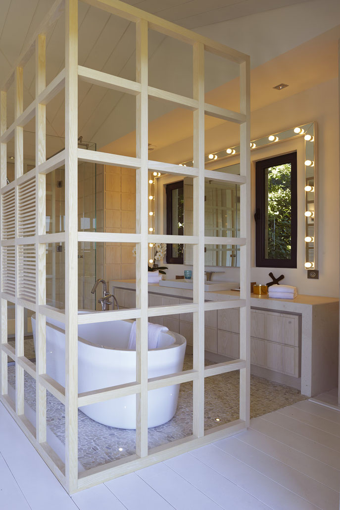 detail salle de bains