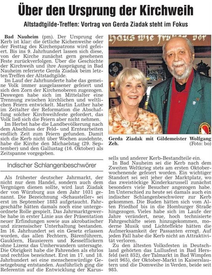 Referentin Gerda Ziadak, WZ 26.11.2013, Foto: Eberhard Bogdoll