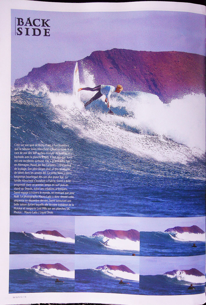 "Sonni Hönscheid in the french mag ""Get Up"""
