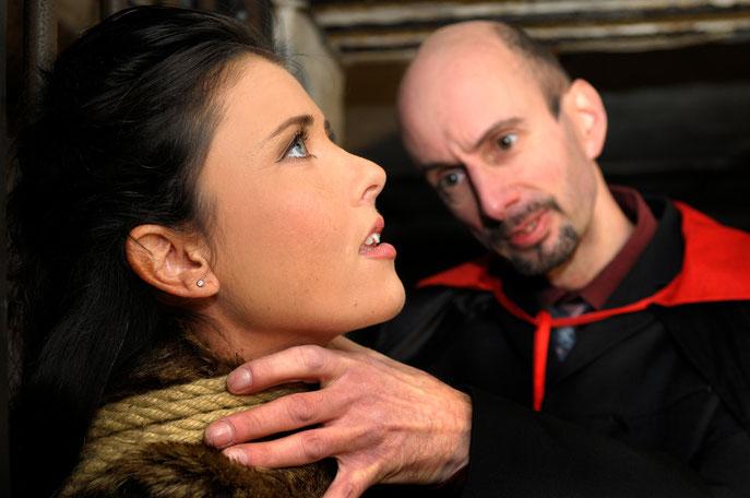 Sängerin Lemonia mit Holger Delfs als Baron