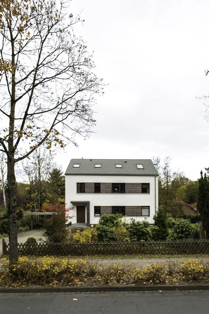 Saniertes Mehrfamilienhaus mit Holzelelementen Buchholz in der Nordheide